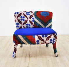 Tombik chair  blue pony by namedesignstudio on Etsy