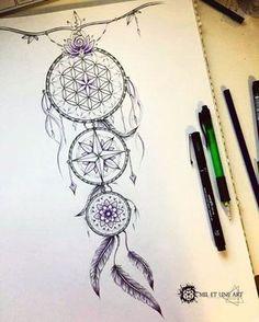 Dreamcatcher tattoo commission on Behance Piercing Tattoo, Atrapasueños Tattoo, Arrow Tattoo, Tattoo Drawings, Body Art Tattoos, Sleeve Tattoos, Wing Tattoos, Dove Tattoos, Celtic Tattoos