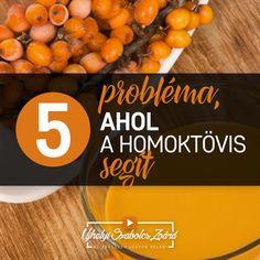 1. Immungyengeség, fertőzések és műtétek után is ajánlott. 2. Segít a FOGYÁSBAN. 3. Hatékony GYULLADÁSCSÖKKENTŐ. 4. Simítja a ráncokat, segíthet a hajhullás megállításában, csökkenti a narancsbőrt, és segít megőrizni a barnaságot. 5. Segítséget nyújt PROSZTATAPROBLÉMÁK esetén. A homoktövist elsősorban gyümölcslé formában fogyaszthatod minden évszakban. Ha túl savanyú, keverd el más gyümölcslevekkel (pl: goji, fekete áfonya, gránátalma), vagy tegyél bele valódi hazai mézet.