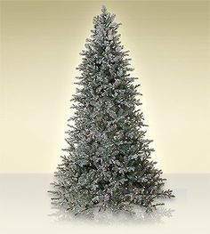 9 ft Treetime Arctic Frost Artificial Christmas Tree with Multi Lights ** Read more reviews of the product by visiting the link on the image.