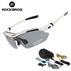 69c71bb1ae0 RockBros Polarized Cycling Sun Glasses Outdoor Sports Bicycle ciclismo Road  Bike MTB Sunglasses Goggles Eyewear 5 Lens Find out more by clicking the  VISIT ...