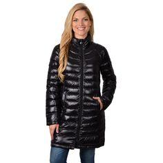 Calvin Klein Women's Down Feather Bubble Jacket | Overstock.com