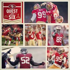 """The #49ers are Heading too New Orleans. #QuestForSix #BeatTheRavens #SuperBowl47"""""""