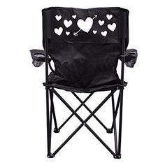 Valentines Day themed Camping Chair with Carry Bag  Heart design *** Read more info by clicking the link on the image. #CampingFurniture