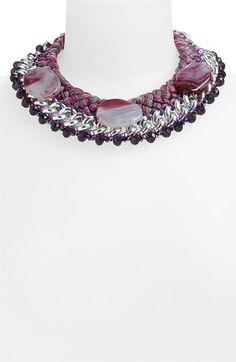Natasha Couture Mixed Media Necklace