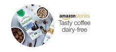 Amazon Stories. Tasty coffee dairy-free.