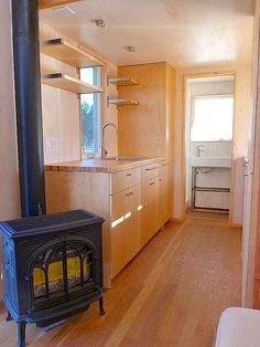 vina lustado tiny house interior 2 Sol Haus Designs 140 Sq. Ft. Tiny House: Would you live here?