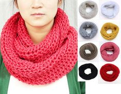 knitted polyester infinity scarf, winter warm scarves This post just made me the happiest girl alive! Alexis needs to stop spending her money.