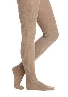 Cover Your Basics Tights in Beige, #ModCloth