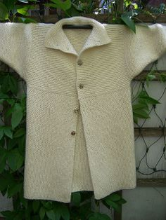 "Einstein Coat by Sally Melville  ""The Knit Book"" - (cbogartrome, via Flickr)"