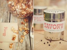 Personalized spices