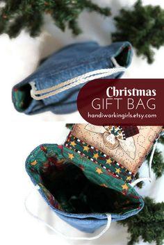 Christmas Angel Gift Bag: http://etsy.me/2bIq02e