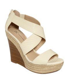 7f437884fc2d INC International Concepts Carlin Wedge Sandals Shoes - Sandals   Flip Flops  - Macy s
