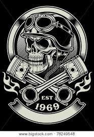 biker skull tattoos - Google Search