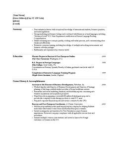 free student resume resume templates