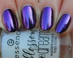 essence Iridescent Effect Nail Pigment 01 Rosy Reflections  (Blossom Dreams LE)
