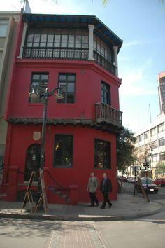 Barrio Lastarria - Santiago, Chile