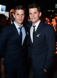 """Charlie Carver and Max Carver attend the PEOPLE """"Ones to Watch"""" Party at The Line Hotel on Thursday, Oct. 9, 2014, in Los Angeles."""