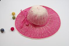 Women's Summer Straw Hats For The Beach 2 Colors