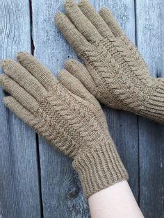 Women Winter Wrist Arm Warmers Ladies Knitted Long Fingerless Gloves Mitten E5F2