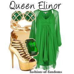 """""""Queen Elinor"""" by fofandoms on Polyvore"""