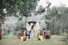 Outdoor Australian Wedding Ceremony | photography by http://www.natasjakremersblog.com