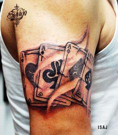 Cartas Tattoo Studio, Tattoos, Letters, Tatuajes, Tattoo, Tattos, Tattoo Designs