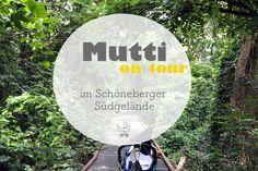 Mutti on Tour im Schöneberger Südgelände