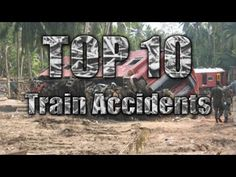 Top 10 Worst Train Accidents! - YouTube Having A Bad Day, Are You The One, Train, Youtube, Top, Crop Tee, Youtubers, Blouses