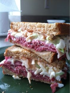 Happiness is Homegrown: St. Patrick's Day Sandwich