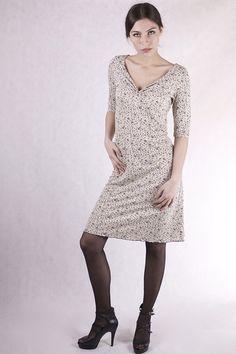 Stretchkleider - NARA ® Sommerkleid Blümchen Kleid - ein Designerstück von Berlinerfashion bei DaWanda