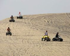 Travelers can rent buggies to ride on the sand dunes in Al Khobar. The buggies come in various sizes... [Read more on the blog]
