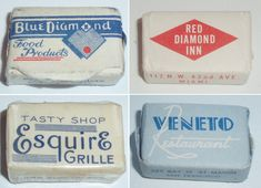 Vintage Sugar Cube Packets | Free Flavour