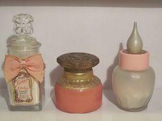Three Vintage Avon Bottles