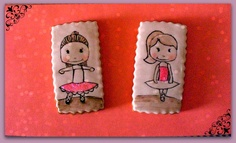 galletas para una bailarina