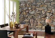 {Stone Wall Mural}