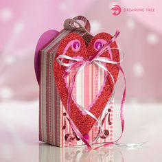 Valentine Heart Box (Free SVG)