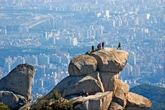 Bukhan Mountain, is a mountain on the northern periphery of Seoul, South Korea. There are three major peaks, Baegundae 836.5 meters, Insubong 810.5 meters, Mangyeongdae 787.0 meters. http://vacationandtripplanning.blogspot.in/2015/11/7-things-to-do-in-seoul-south-korea.html