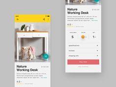 Product detail ios app by Muhamad Reza Adityawarman