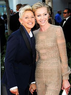 photo | Ellen DeGeneres, Portia de Rossi