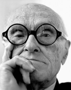 Philip Johnson by Jesse Frohman