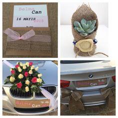 Burlap wedding concept