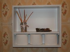 Tá! Eu me viro!: De gaveta velha a nicho porta-papel higiênico