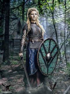 Lagertha by thecasperart