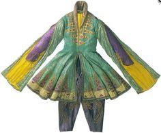 Léon Bakst costume for Shéhérazade, 1910. #dancefashion Press image / National Gallery of Australia