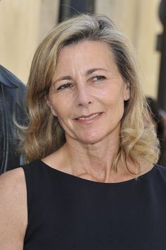 Claire Chazal Hair - I don't think I'd look this intelligent, though.