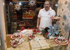 Miguel, maestro repostero de Confitería Canela de Leon