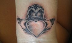 claddagh wrist tattoos on facebook | Claddagh design – Tattoo Picture at CheckoutMyInk.com