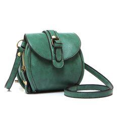 eye-catching emerald bag