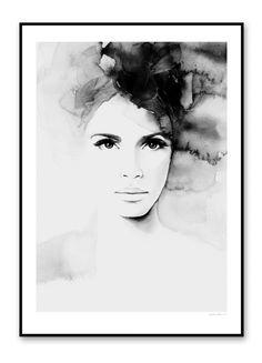 Magdalena Tyboni DESIGN / Plakát Pretty Anne 50 x 70